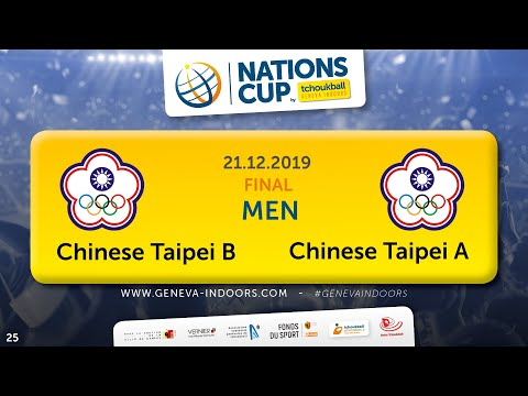25 CN TGI2019 / Nations Final Men : Chinese Taipei B - Chinese Taipei A