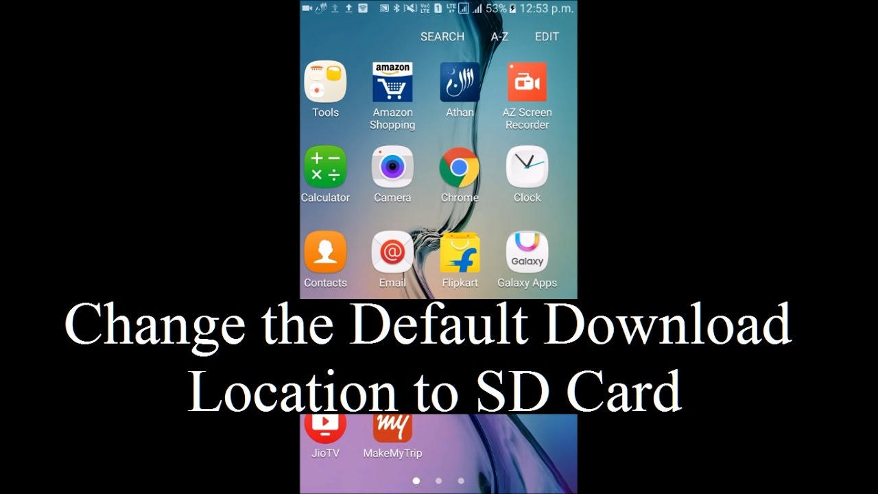 How To Change The Default Download Location To External Sd Card In Android Devices Without Root