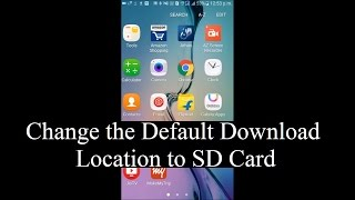 How to change the default download location to external SD card in Android devices (Without Root) thumbnail