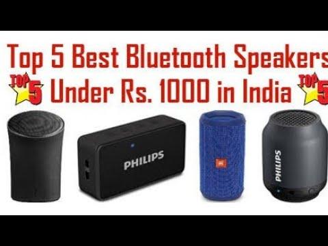 Top 5 Bluetooth Speaker Under 1000 Best Bluetooth Speaker 2019 Youtube