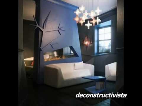 Decoraci n de interiores tendencia 2012 deconstructivista minimalistica youtube - Youtube decoracion de interiores ...
