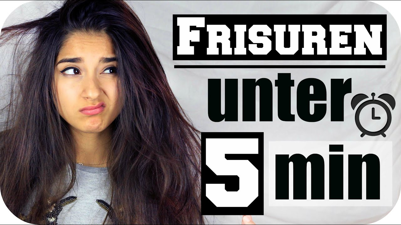 Bad Hair Day 5 Frisuren Unter 5 Minuten Sanny Kaur Youtube