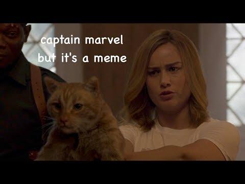 captain marvel but it's a meme