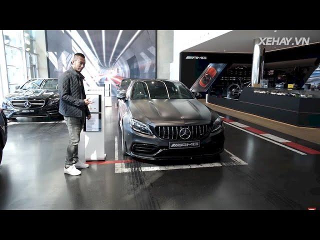Khám phá Mercedes-AMG C63 S Coupe 4.0L V8 - 510 mã lực |XEHAY.VN|