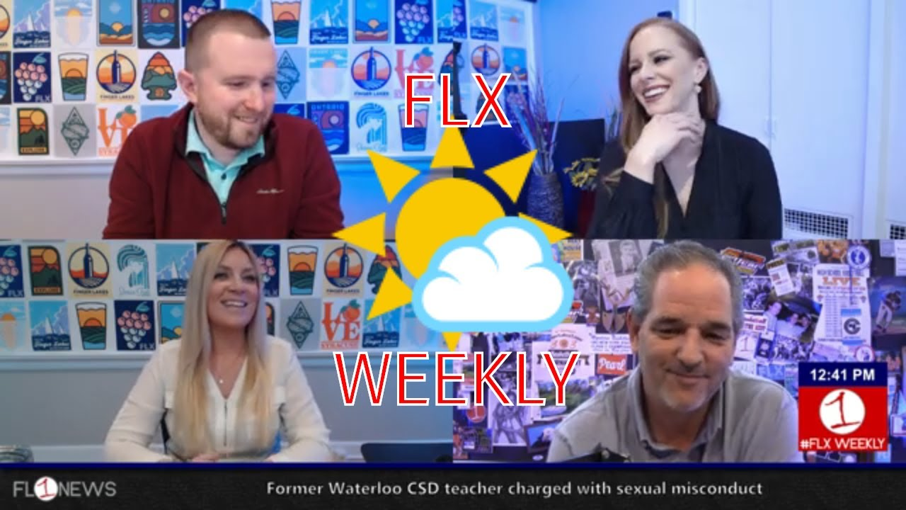 FLX WEEKLY LIVE AT 12:30 PM: Clearing skies for a great spring weekend in the Finger Lakes (podcast)