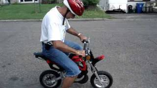 Pocket Dirt Bike 49cc