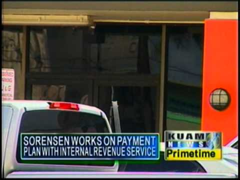 Sorensen Pacific Broadcasting owes $290,000 for federal withholding taxes