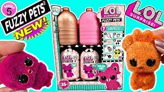 LOL Surprise Fuzzy Pets LOL Surprise Dolls New Pets LOL Dolls Makeover Series 5 LOL Pets Under Wraps