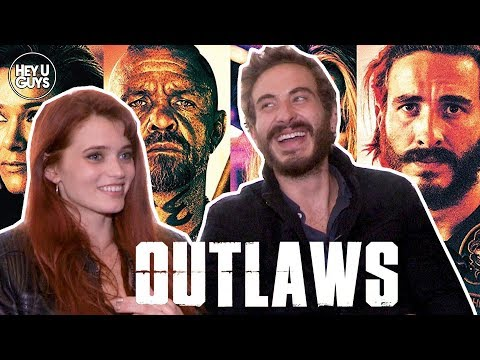 Abbey Lee & Ryan Corr Interview - Outlaws (1%)