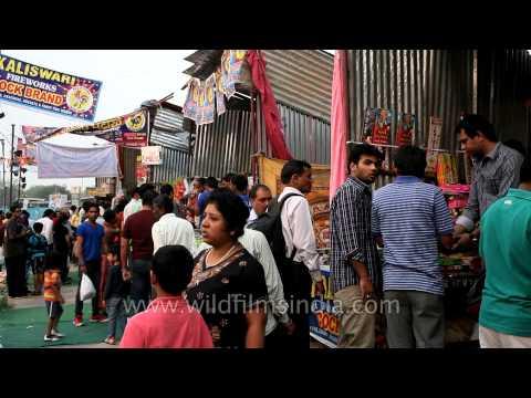 Firecrackers sale at peak - South Delhi