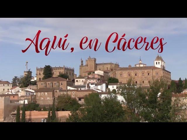 AQUÍ, EN CÁCERES - Noticias 12/12/2020
