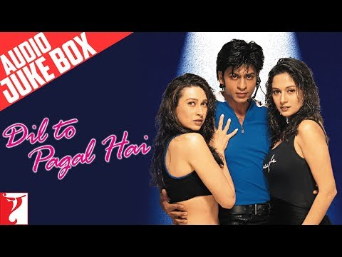 Dil To Pagal Hai | Full Songs Audio Jukebox | Shah Rukh Khan | Madhuri | Karisma | Uttam Singh