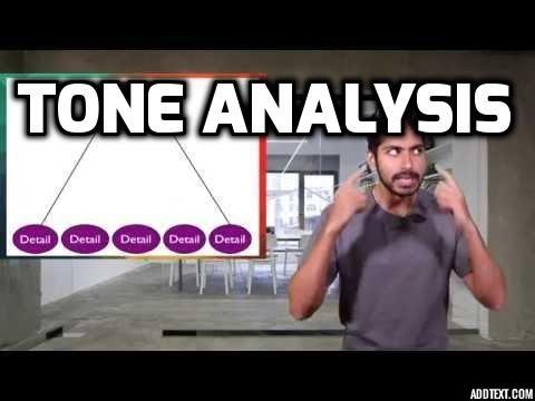 Tone Analysis - Fresh Machine Learning #3