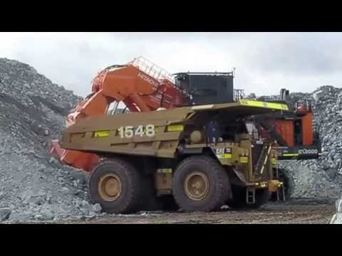 Excavator Terbesar di Dunia kerja, dan Alat Berat Terbesar Bekerja