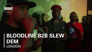 Bloodline B2B Slew Dem Boiler Room x Keepinitgrimy LIVE Show with DJ Logan Sama