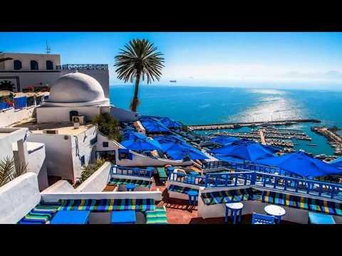 Sidi Bou Said (the city of blue & white) - Tunisia (HD1080p)