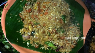 Making of CHICKEN FRIED RICE - FAST FOOD STYLE   INDO-CHINESE RECIPE   VAGMI STREET FOOD