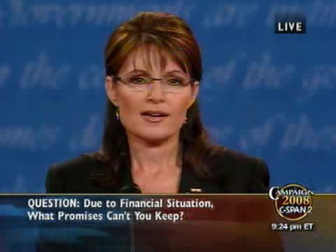 C-SPAN: Full Vice Presidential Debate with Gov. Palin and Se