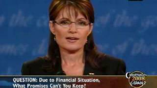 C-SPAN: Full Vice Presidential Debate with Gov. Palin and Sen. Biden