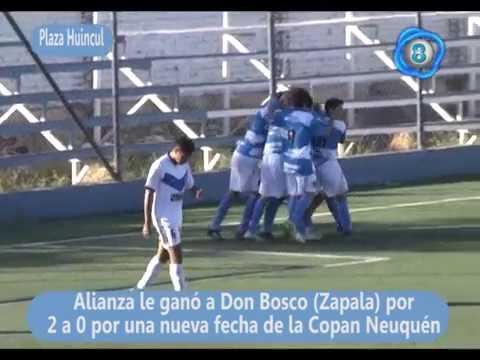 Alianza 2 Don Bosco Zapala 0 Copa Neuquén