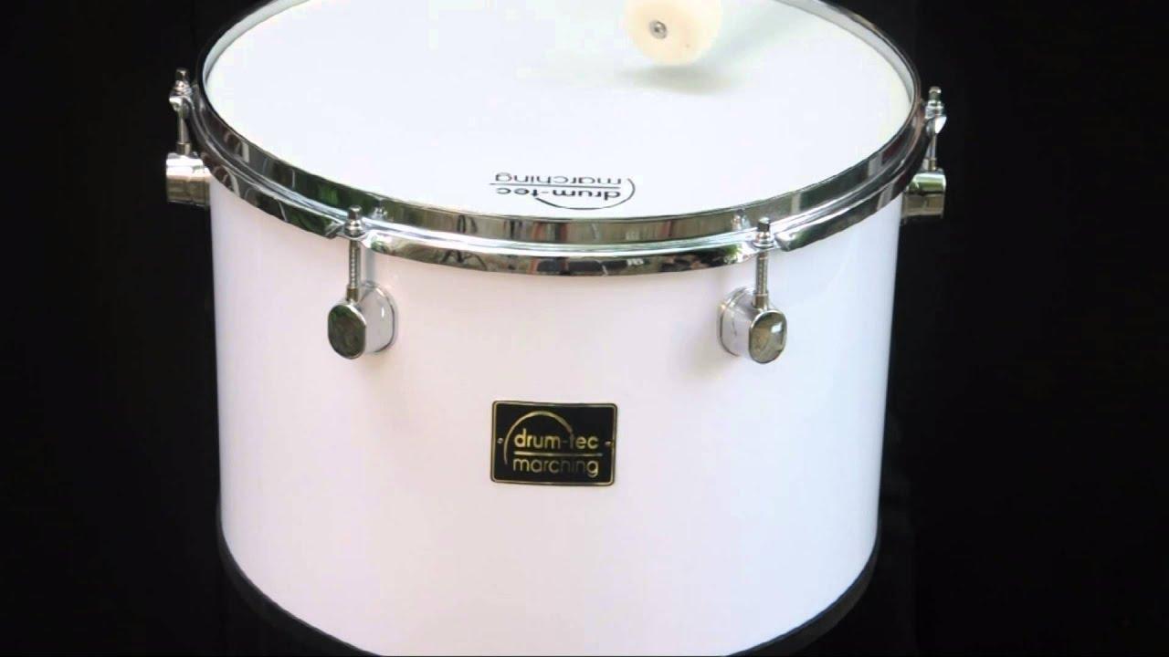 drum-tec Classic Line Marching Tenor Drum / Fan-Trommel 14\