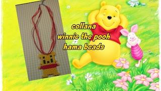 collana winnie the pooh hama beads-pyssla ||kamipucca||