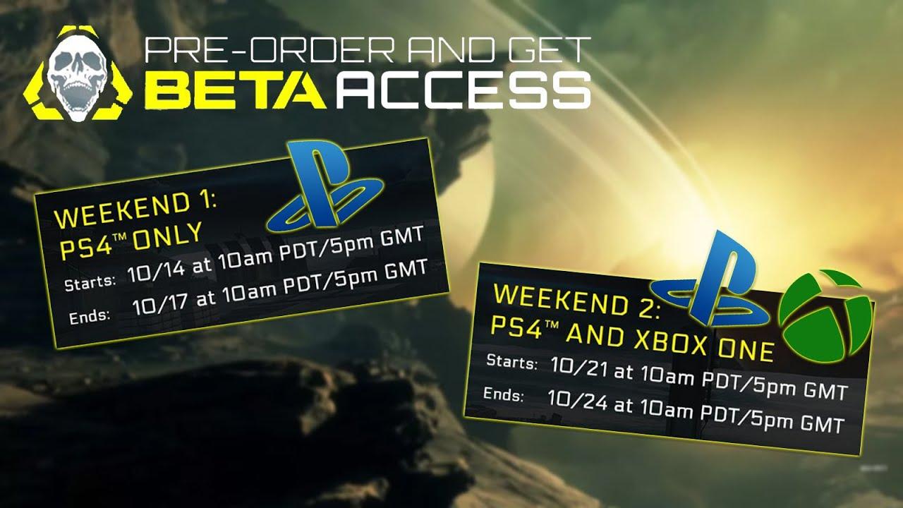Offizielles Beta Datum Ps4 Xbox One Infinite Warfare German