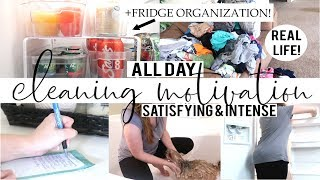ALL DAY CLEAN WITH ME | CLEANING MOTIVATION | WEEKLY CLEANING ROUTINE
