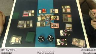 Top 4 : Sultai Delve vs Temur Monsters (Standard)