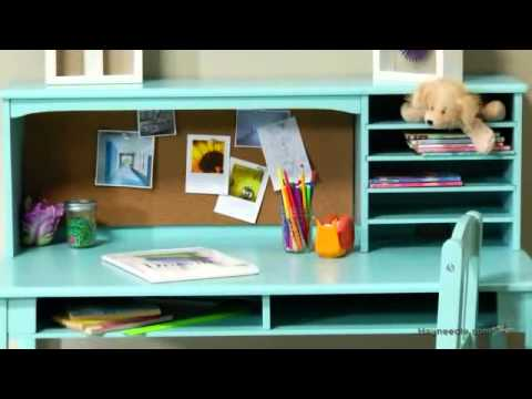 Guidecraft Media Desk Chair Set Teal YouTube