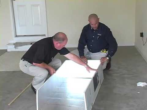 Make An Attic Stairway Box Youtube