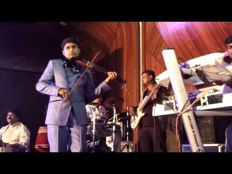 Kadhal Rojave | Violin Fusion | Live Performance | Vivekanand
