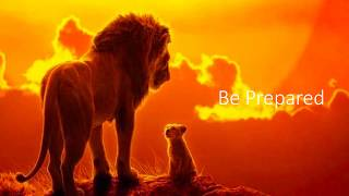 Be Prepared Lion King Lyrics Video - Chiwetel Ejiofor.mp3