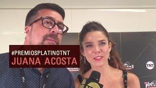 #PremiosPlatinoTNT | Entrevista a Juana Acosta