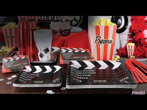 Craft Ideas for Hollywood Theme Party