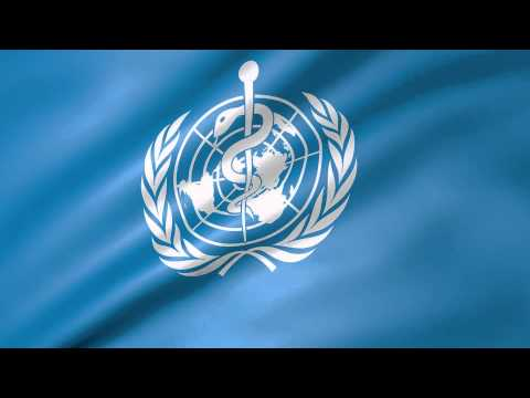World Health Organisation Animated Flag