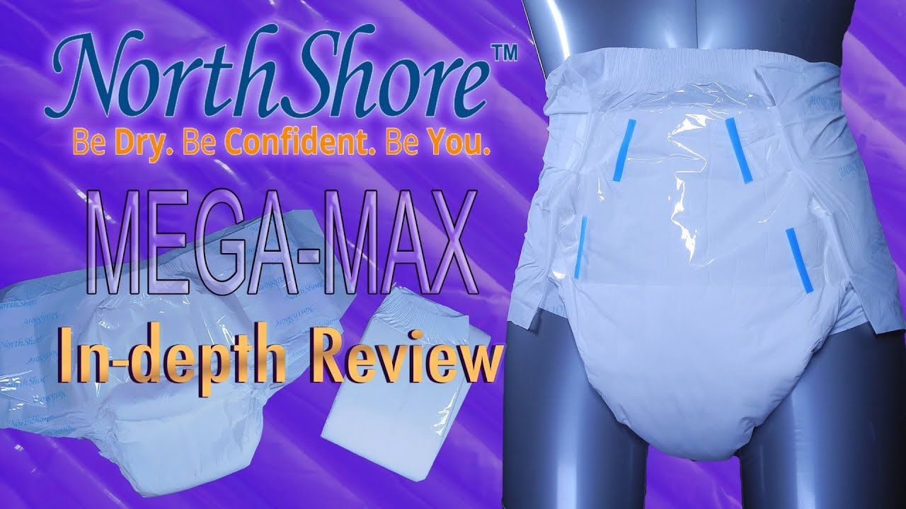 NorthShore™ Mega-Max™ In-Depth Review with audio  #adultdiaper #incontinence