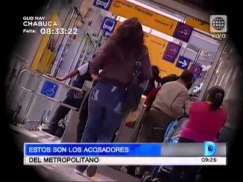 América Noticias - 080614 - Estos son los acosadores del Metropolitano