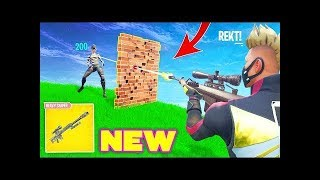 Decent ps4 Player New Game Mode Sniper Shoutout|Fortnite Live| come chill