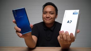 UNBOXING : SAMSUNG A7 2018 (MALAYSIA)