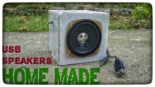 how to make a speaker (diy speakers) (make your own speakers at home)  (speaker diy)