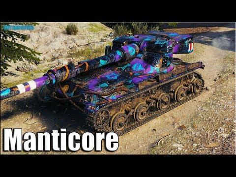 ТОП статист на британском ЛТ-10 ✅ World of Tanks Manticore лучший бой