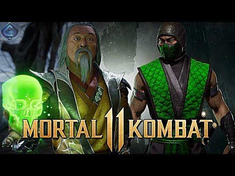 Mortal Kombat 11 Online - CRAZY 46% REPTILE SHANG TSUNG COMBO!