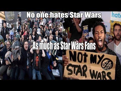 Why Star Wars Fans Hate Star Wars