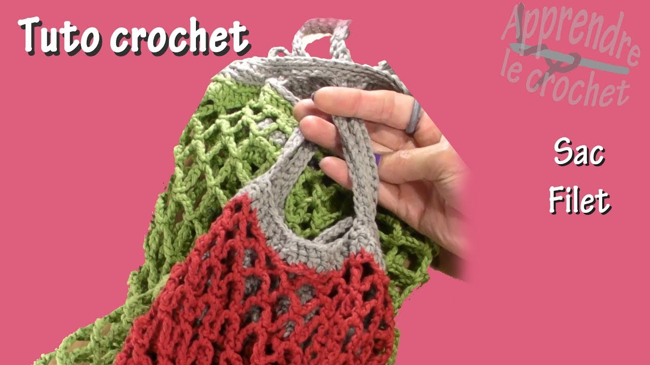 Tuto Crochet Sac Filet Youtube