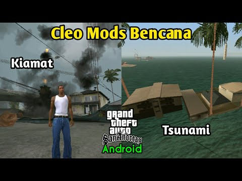 Cleo Mods Bencana Kiamat & Tsunami - GTA SA Android