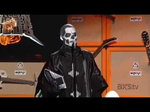 Papa Emeritus II of Ghost Introduces Danzig at the Golden Gods Awards