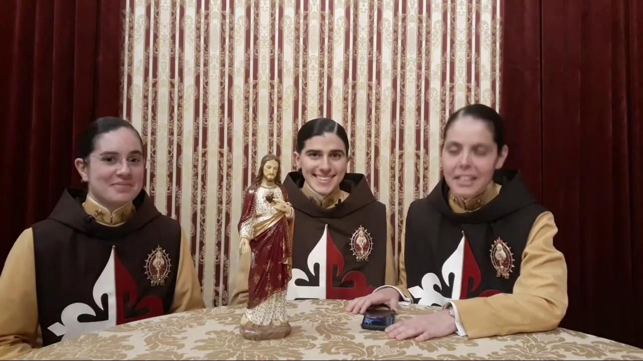 LIVE COM AS IRMÃS!! - PERGUNTAS e RESPOSTAS 04/07/2020 - Arautos sem Segredos - Arautos do Evangelho