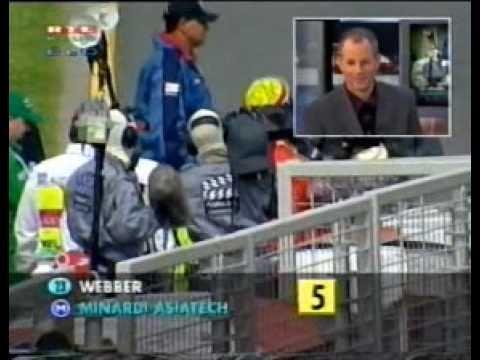 Mark Webber első versenye, pontszerzés! (by Palik)