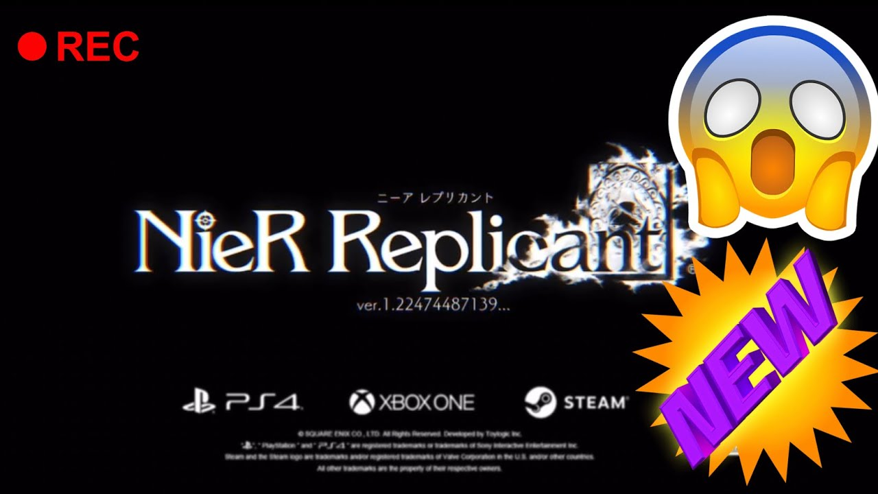 Square Enix reveals Nier Replicant upgrade, not remake or remaster